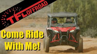 What it's Like to Ride Hard in the The All-New Honda Talon 1000R & 1000X | Come Ride With Me Ep.1