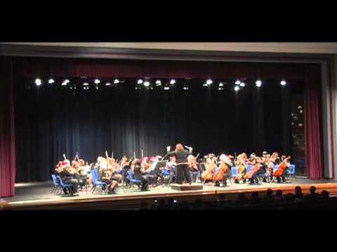 South Middle School and East Middle School Orchestra Concert 2012