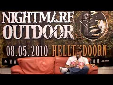 Interview met Furyan. Nightmare Outdoor 2010