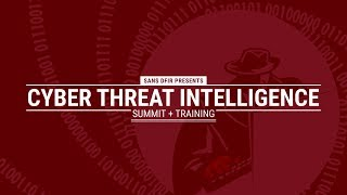 Cyber Threat Intelligence Summit 2019 thumb