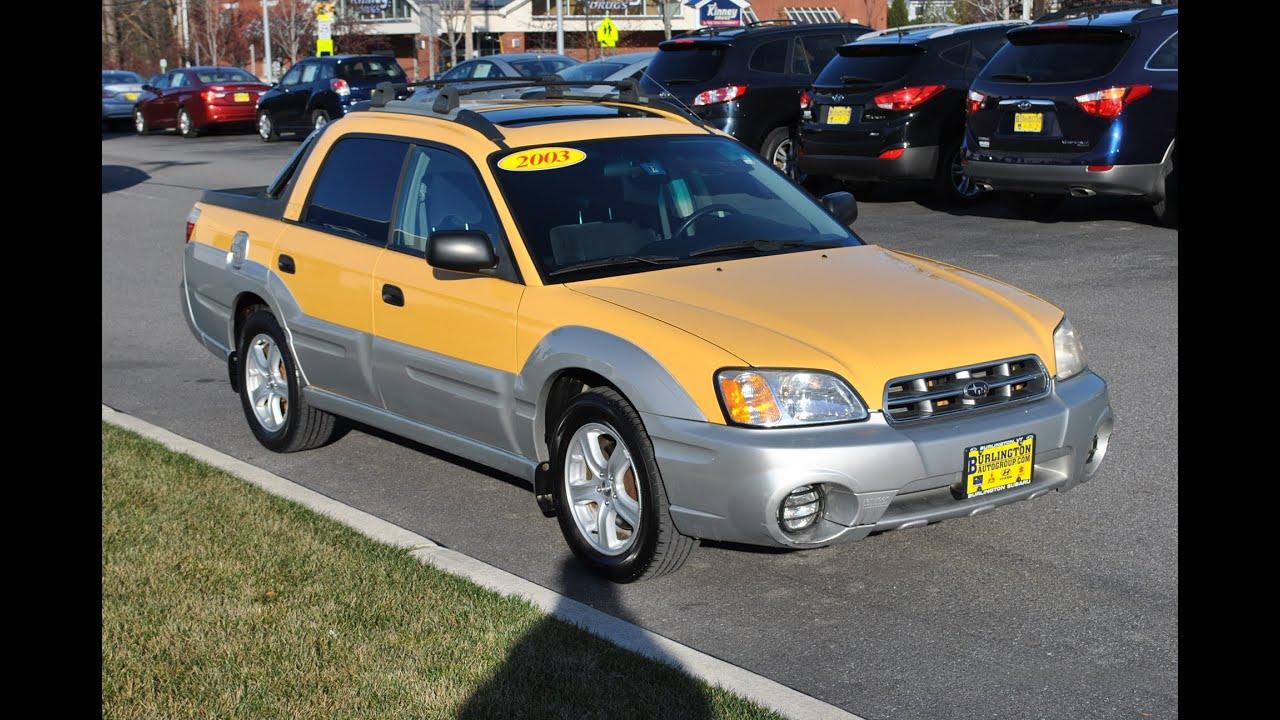 2003 subaru baja vehicle review by burlington subaru of vermont youtube