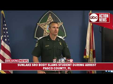 Pasco Sheriff's investigating after SRO slams student during arrest