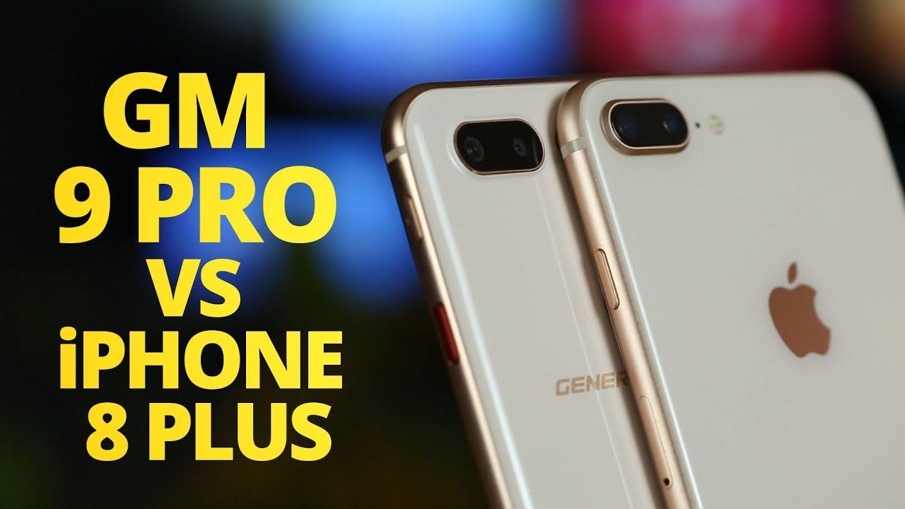2899 TL vs 7499 TL! GM 9 Pro ile iPhone 8 Plus Karşı Karşıya!