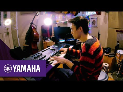 Jacob Collier and the Yamaha Genos Digital Workstation | Keyboards | Yamaha Music