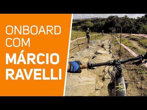 MTB Onboard com Márcio Ravelli na pista de XCO C3 castanheiro em Tatuí