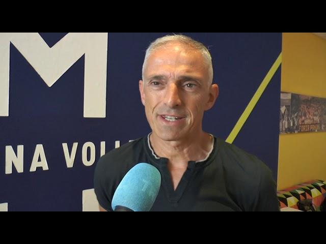 Coach Tomasini racconta l'estate Azzurra dei giovani gialloblù