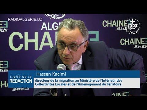 Hassen Kacimi directeur de la migration au Ministère de l'Intérieur