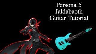 Jaldabaoth - Guitar Tutorial (Persona 5)