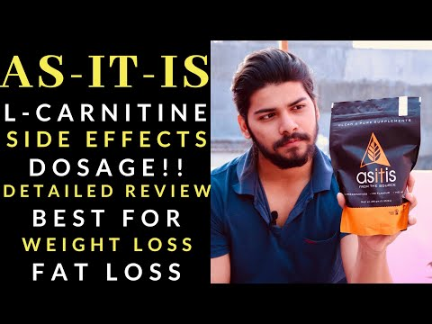 AS-IT-IS L-CARNITINE | SIDE EFFECT, DOSAGE | HONEST REVIEW | Rahul Singh