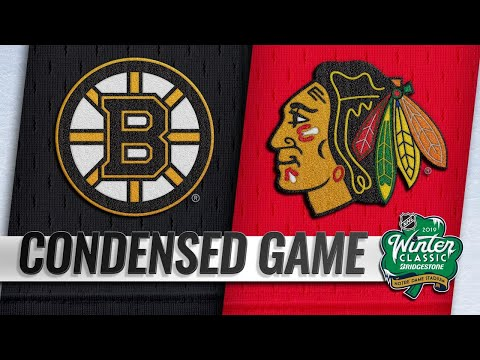 01/01/19 Condensed Game: Bruins @ Blackhawks