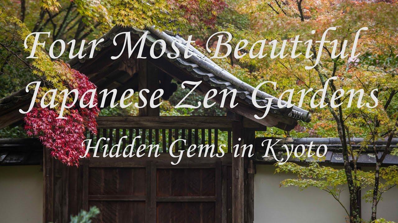 astonishing beautiful zen garden | 4 Most Beautiful Zen Gardens Without Tourist Crowds, Kyoto ...