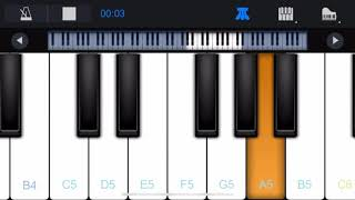 Oru Iniya Manadhu Johny Song Piano Tutorial Mobile