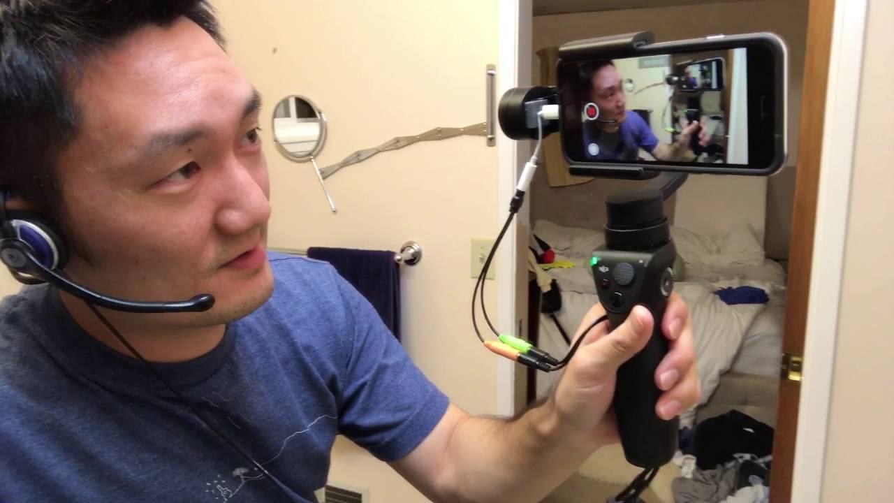 Part 2 Iphone 7 Dji Osmo Mobile External Mic Youtube