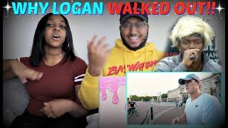 "Logan Paul ""DEAR KSI, HERE'S WHY I WALKED OFF STAGE"" REACTION!!!"