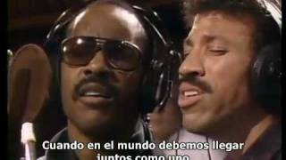 Michael Jackson - We are the world (Subtitulado español)