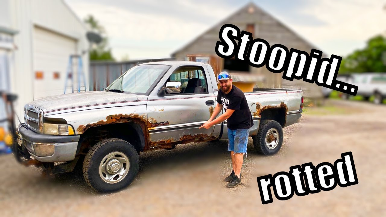 I bought THE most RUSTED out Cummins known to MAN!!!