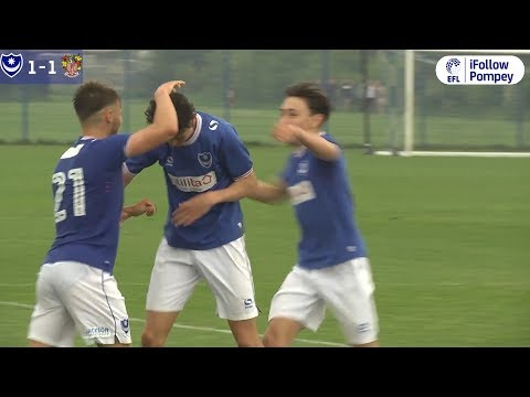 Academy Highlights: Pompey U18s 1-1 Stevenage U18s