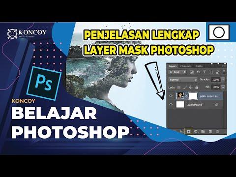 Belajar Photoshop Penjelasan Dan Kesalahan Layer Mask Photoshop - Disertai File