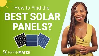 HOW TO FIND THE BEST SOLAR PANELS IN THE UK (Cost & Efficiency Guide 2021 ☀) | GreenMatch