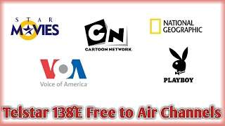 Telstar 18 at 138.0°E Dish Setup | Channel List | Free Channels | Play Boy