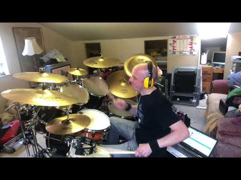 Big Country Rain Dance Drum Cover