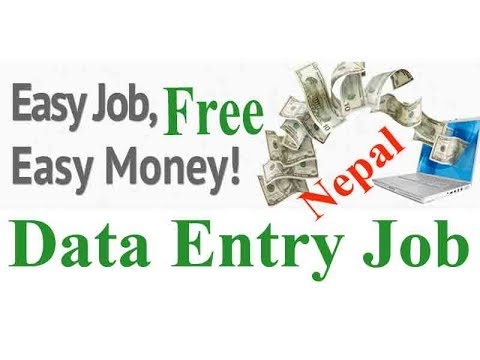 Online data entry job in Nepal without investment with payment  proof