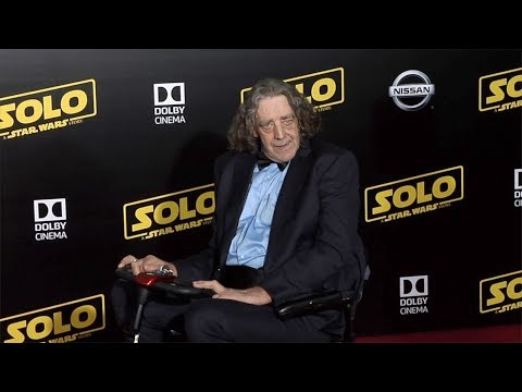 "Peter Mayhew ""Solo: A Star Wars Story"" World Premiere Red Carpet"