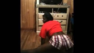 My cousin twerkin:)) Big Booty Judy