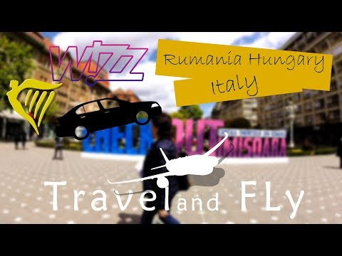 Vacation trip to Hungary, Italy & Romania #TravelVideo