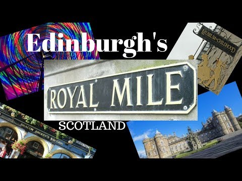 A trip down the royal mile   Edinburgh tours