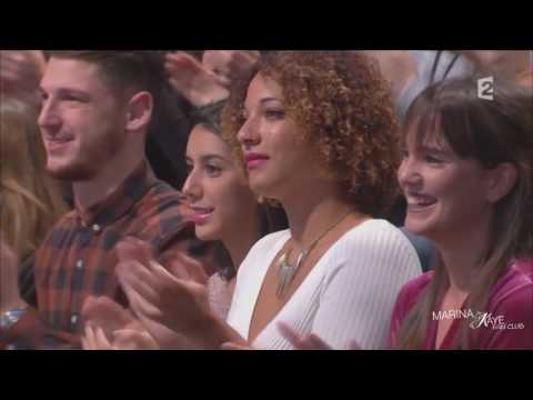 Marina Kaye dans l'émission Amanda   24.10.2016