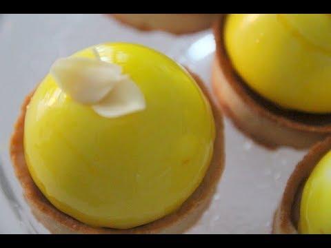 tartelette-dôme-mousse-citron-et-caramel
