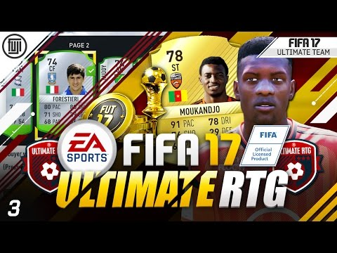FIFA 17 ULTIMATE ROAD TO GLORY! #3 - EASY TRADING!!!