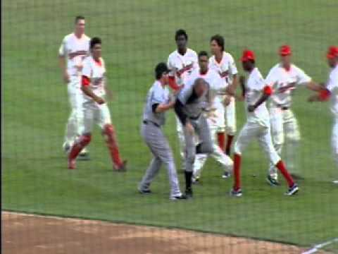 Caught On Tape: Crazy Baseball Fight