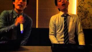 弟と歌ってみました!