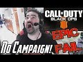 Black Ops 4 Reveal Angry Rant - No Campaign! Battle Royale?!