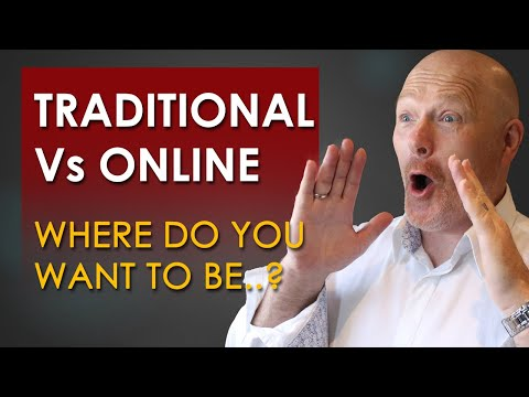 Traditional Business Vs Online Business