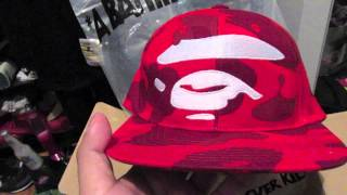 BAPE SNAPBACK PONDON PICK UP