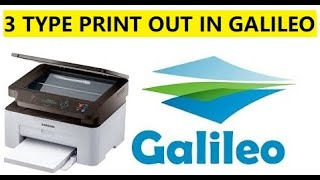 Galileo Ticket Print Out || 3 Tips You Can Print Your Ticket In Galileo