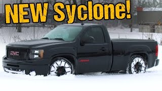New GMC Syclone Rips Epic AWD Burnout, Goes Drag Racing!