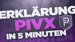 Was ist PIVX - In 5 Minuten erklärt (Deutsch/German)