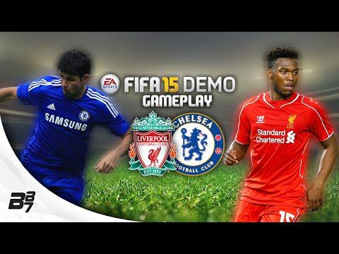 CHELSEA VS LIVERPOOL w/ AA9SKILLZ | FIFA 15 Demo