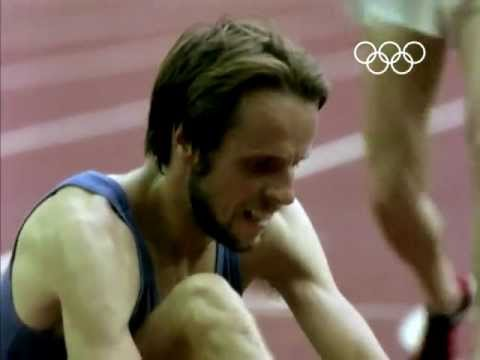 Lasse Virén Wins The Distance Double Double - Montreal 1976 Olympic Games
