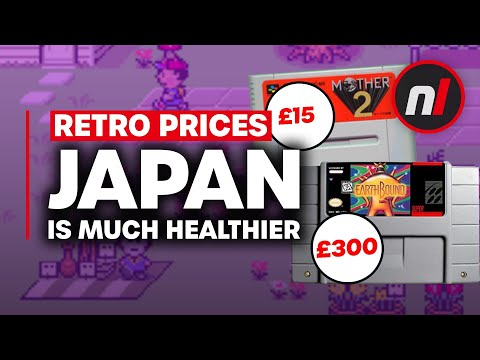 Retro Game Prices Are So Much Better in Japan