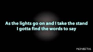 Shayne Ward - Waiting In The Wings (Obsession) [Lyrics on Screen] M