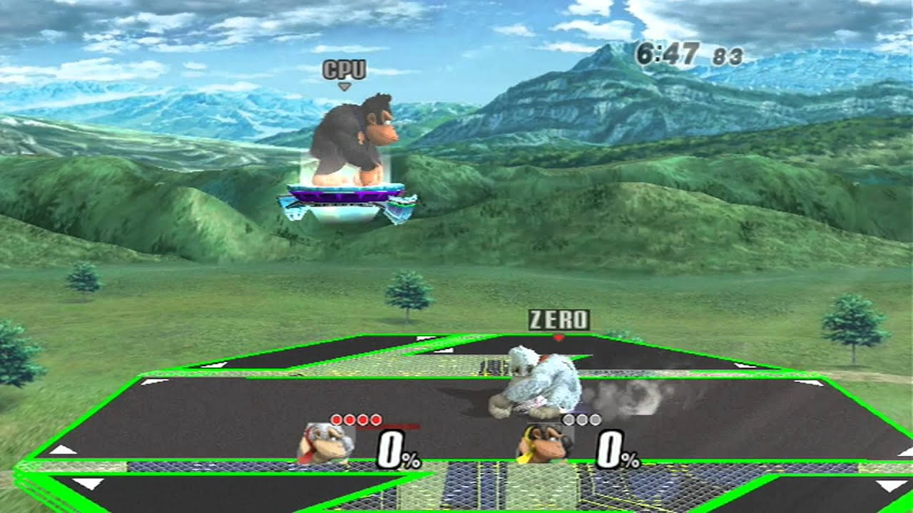 SSBB (Project M 2.6) - Donkey Kong's Melee Voice Mod Demo ...