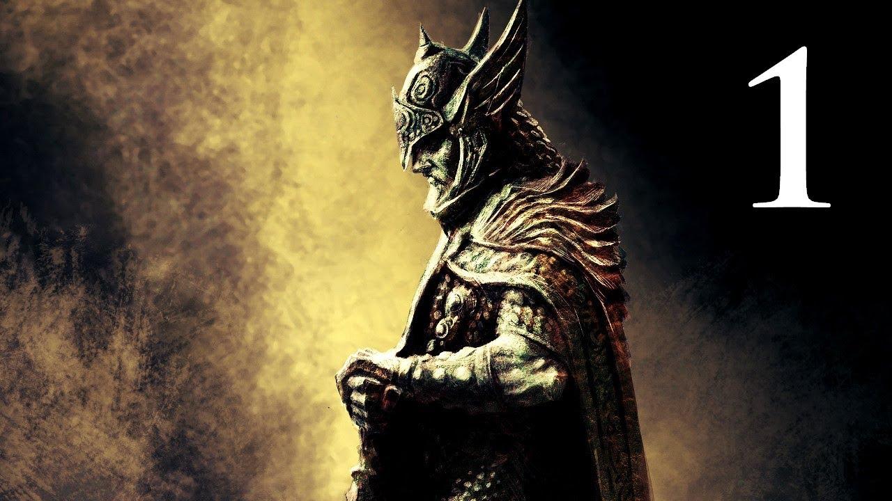 Elder Scrolls V: Skyrim – Walkthrough – Part 1 – Character Creation (Skyrim Gameplay)