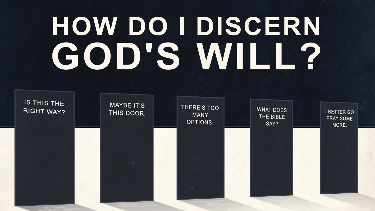 How Do I Discern God's Will?  Tim Conway Youtube