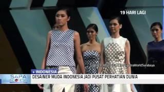 Desainer Indonesia Jadi Pusat Perhatian Dunia