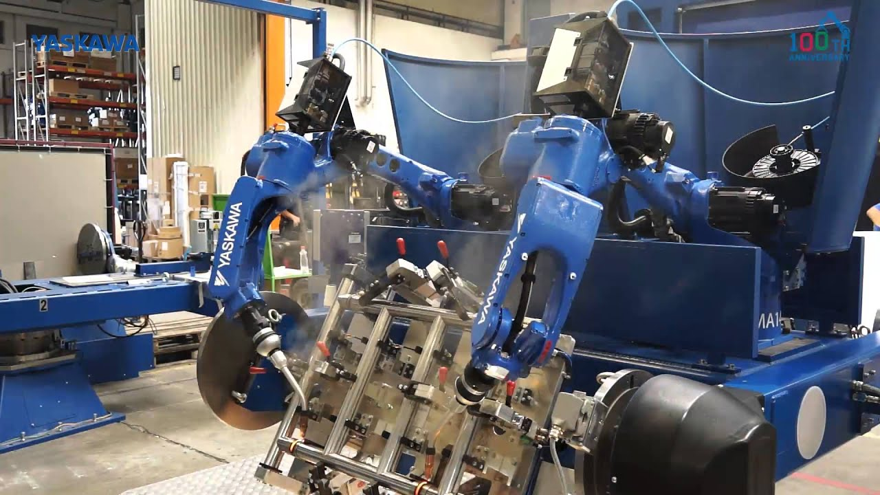 Yaskawa Quot Robots On Board Quot Welding System Youtube